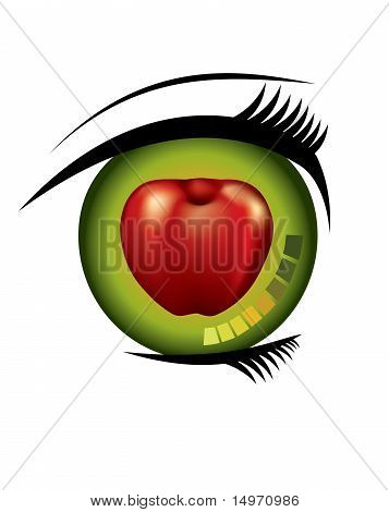 You are the apple of my eye.