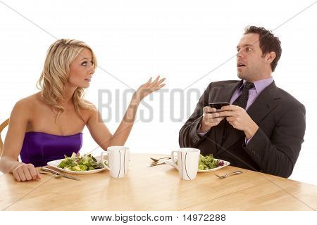 Fighting Texting Date