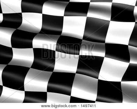 Bandera de final de carrera