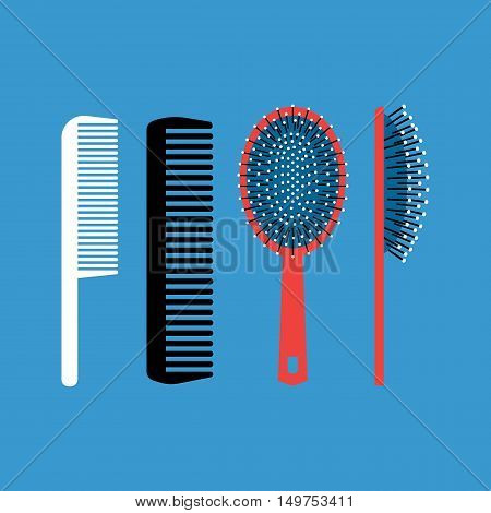 Combs - items for combing hair and scalp massage