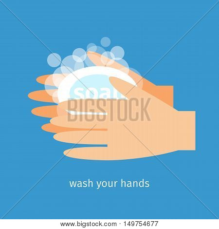 Wash your hands with soap and water
