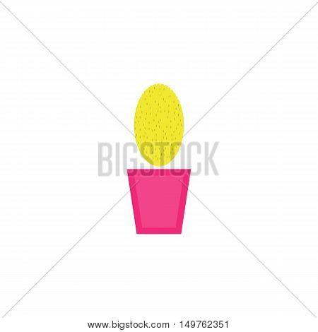 Houseplant Icon Vector. Flat simple color pictogram