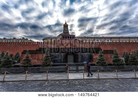 The main shrine of the USSR, the Lenin Mausoleum is necessary now to nobody, even to the communists sitting at the State Duma.