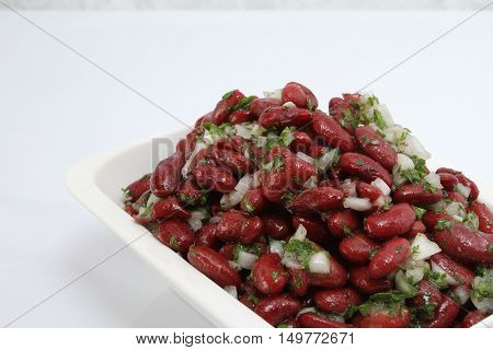 A Bowl Full Of Red Beans