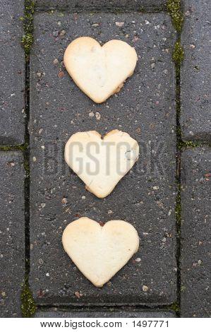 Three Hearts On Asphalt