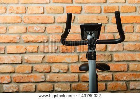 Stationary Training Bicycle Indoors