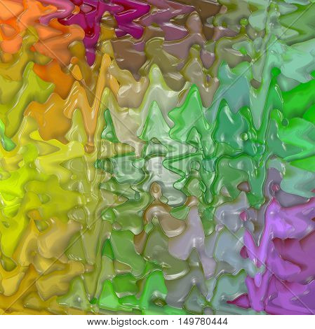 Abstract coloring background of the pastels gradient with visual lighting, mosaic,wave and plastic wrap effects.Good for your project design