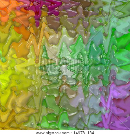 Abstract coloring background of the pastels gradient with visual lighting,mosaic,wave and plastic wrap effects.Good for your project design