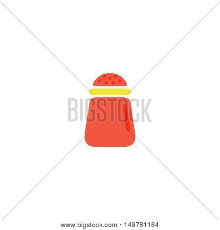 Salt Icon Vector. Flat simple color pictogram