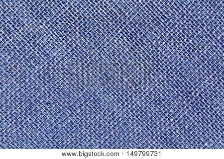Blue Sack Cloth Texture.