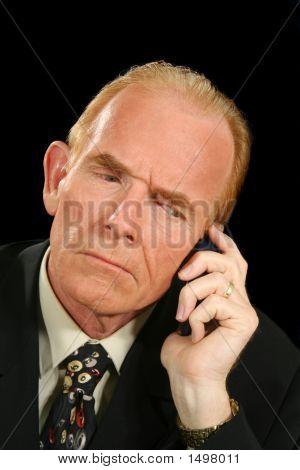 Crank Call Businessman