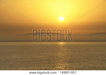 Ocean sanset view Tenerife, Canary Islands, Spain