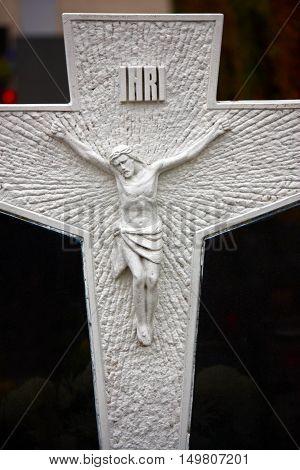 Jesus Christ crucified symbol of God's eternal love