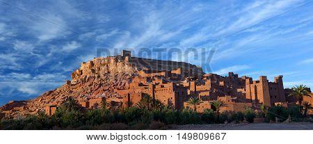 Ksar Ait Benhaddou Near Ouarzazate In Morocco