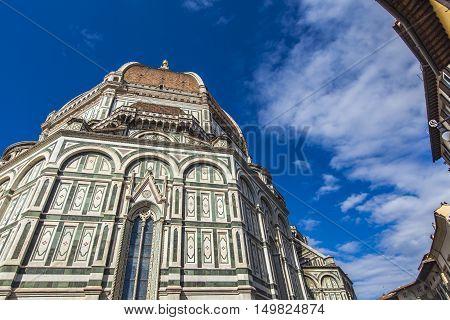 Santa Maria Del Fiore Catedral In Florence