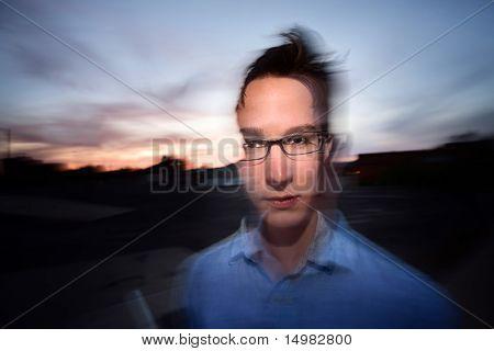 Motion Blur Portrait