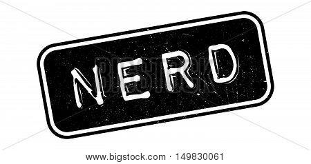 Nerd Rubber Stamp