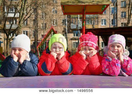 Team In Kindergarten