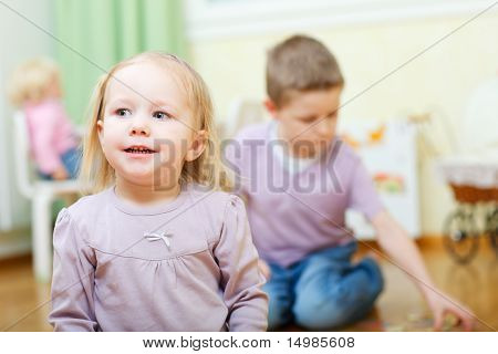 Two Kids At Home