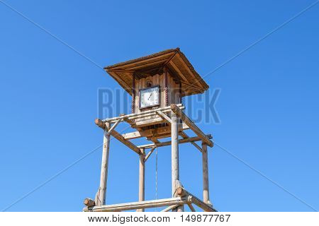 The Wooden Clock Tower
