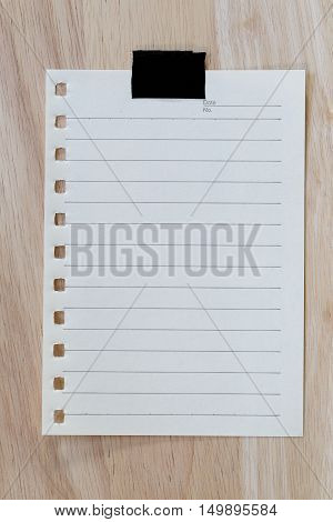 vintage of note paper background and copy specs you can input text to it.