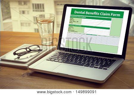 Dental Benefits Claim Form Document Dental