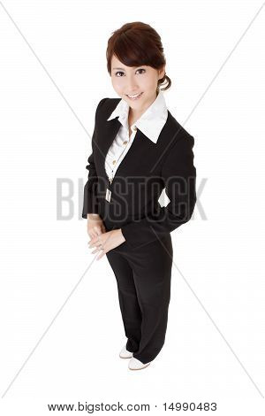 Japanese Young Business Woman
