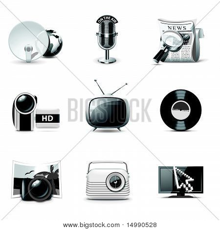 Media Icons | Bella series