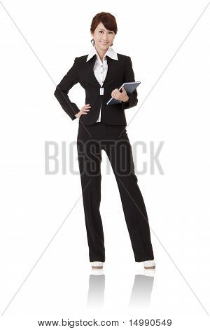 Smiling Modern Business Woman