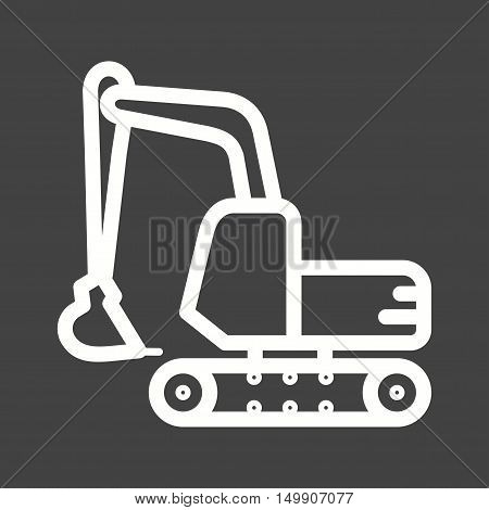 Excavation, mining, sand icon vector image. Can also be used for Industrial Process. Suitable for mobile apps, web apps and print media.