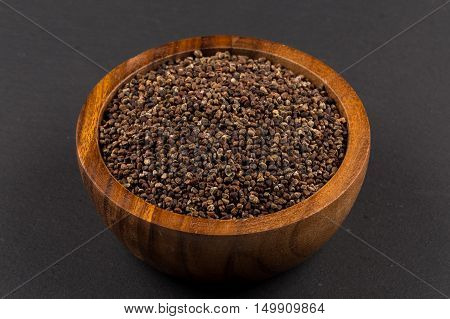 Decorticated Cardamom Seeds In A Bowl