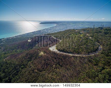 Aerial Image Of Mornington Peninsula