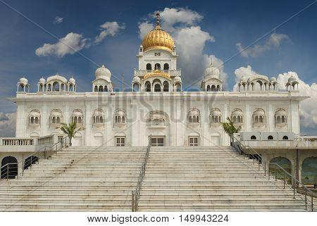 Gurudwara Bangla Sahib Is One Of The Most Prominent Sikh Gurdwara, In Delhi, India