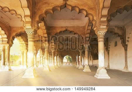 Red Fort  Located In Agra, India.