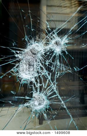 Smashed Window
