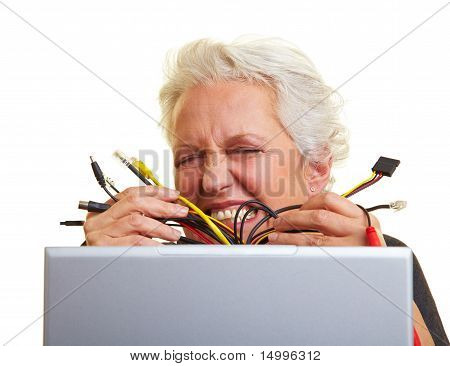 Too Many Computer Cables