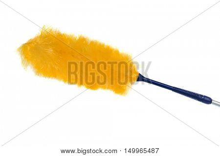 Whisk dust isolated on white background