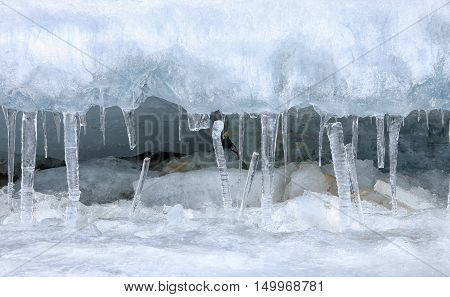 Ice And Icicles
