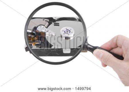 Hard Drive Magnification