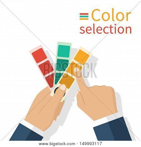Holding  Palette Samples