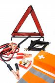foto of emergency light  - Emergency kit for car  - JPG