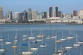 San Diego Downtown And Harbor View.