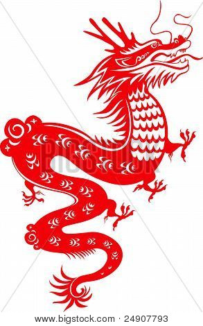 Dragon. Symbol of the 2012