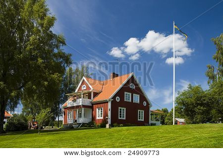 Sweden house.Home sweet home.