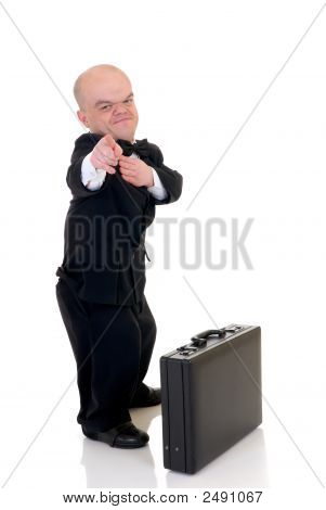Dwarf, Little Businessman