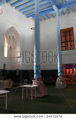 Interior Mosque In Madrasa Of Ulugh Beg