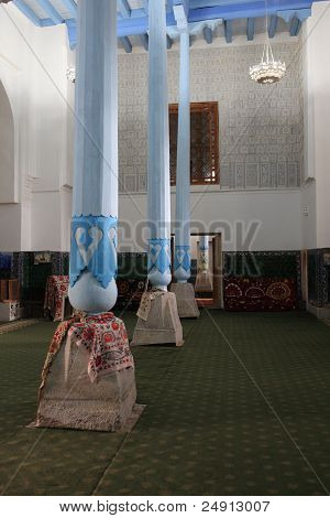 Mosque In Madrasa Of Ulugh Beg