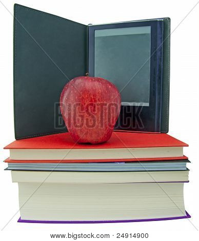 Apple, Bücher und Ebook Reader