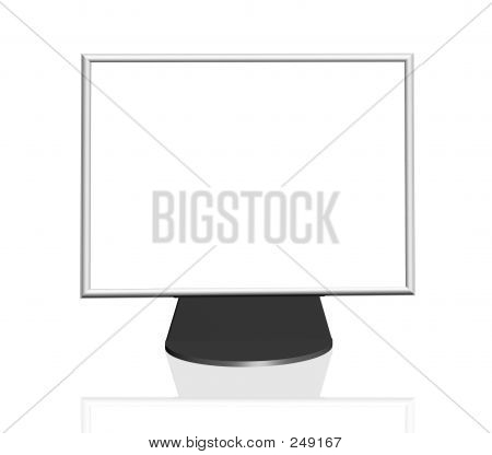 Blank Computer Tft Screen