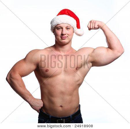 Santa Bodybuilder